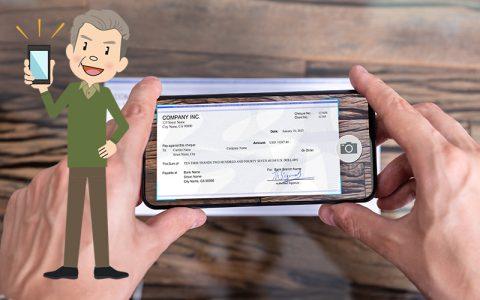 Le dépôt mobile de chèque