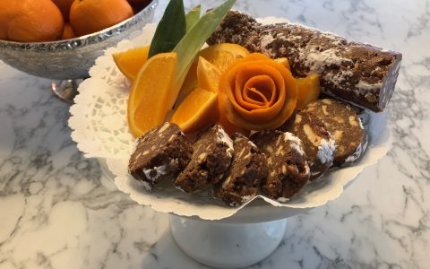 Recette - Saucisson de chocolat à l'orange