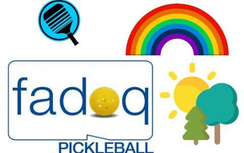 Ligue de pickleball FADOQ été 2020