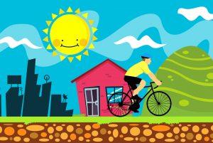 Une randonnée à vélo…en toute sécurité!