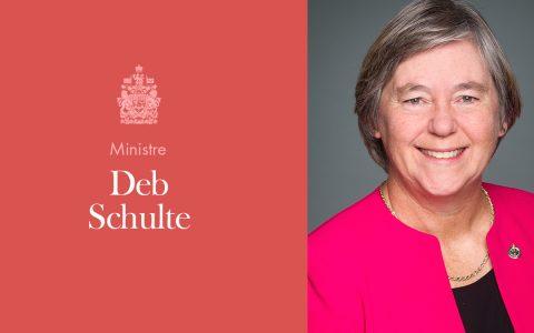 Mise à jour de la ministre des Aînés, Deb Schulte
