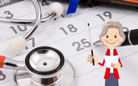La prise de rendez-vous médicaux en ligne