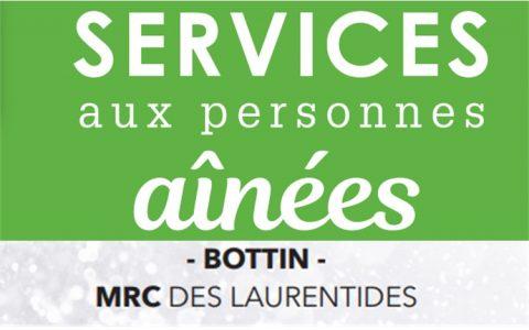 Services aux aînés - Bottin MRC des Laurentides