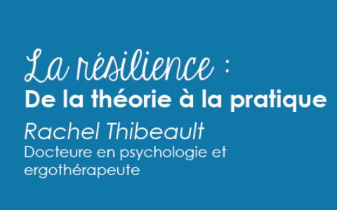 Conférence «La résilience» pour proches aidants d'aînés