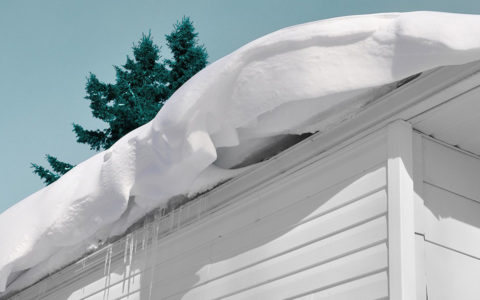 Watch out for snow accumulation on your roof