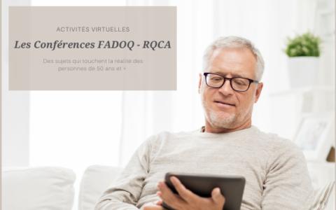 La scène virtuelle FADOQ - RQCA