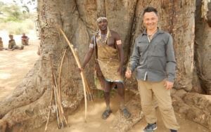 Michel en Tanzanie