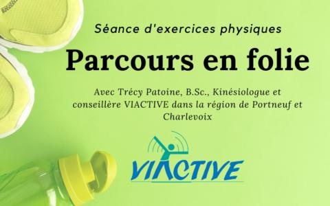 Séance d'exercices physiques: Parcours en folie
