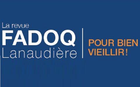 La revue FADOQ Lanaudière