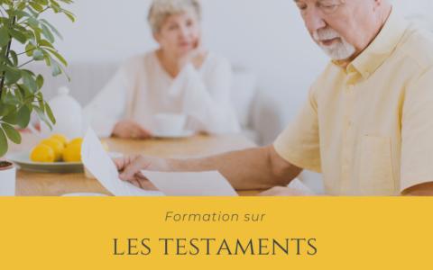 Formation - Les testaments