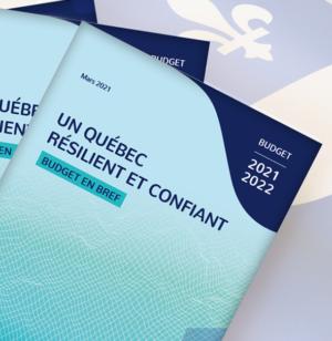 Budget provincial 2021-2022