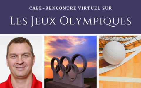 Café-rencontre virtuel sur les Jeux Olympiques