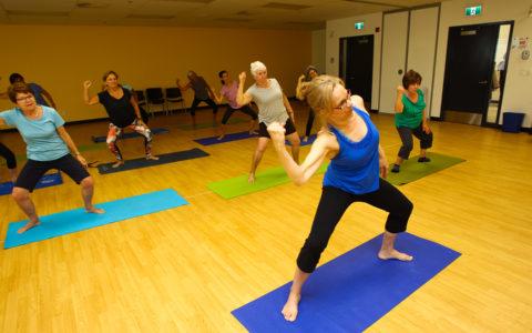 Cours d'activités physiques - Session 2