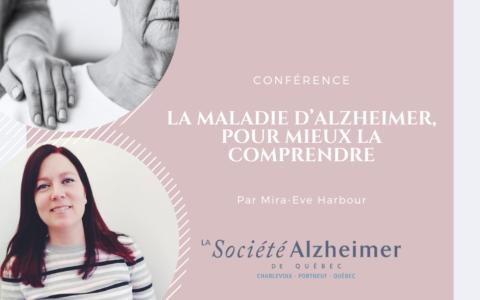Conférence - La maladie d'Alzheimer, pour mieux la comprendre