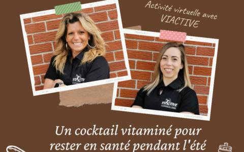 Séance d'exercices physiques - Un cocktail vitaminé pour rester en santé pendant l'été !