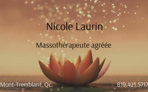 Massothérapie Nicole Laurin