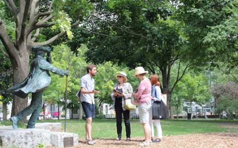 Outdoor walking tour - The Golden Square Mile and the 19th century English-speaking bourgeoisie