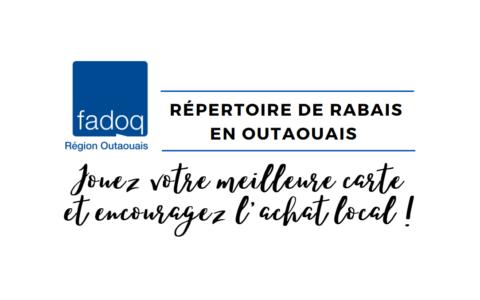 Répertoire de rabais en format PDF
