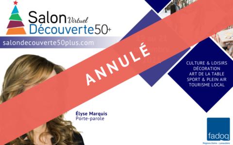 Salon Découverte 50+ | édition des fêtes (annulé)
