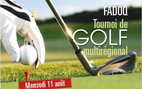 Tournoi de golf multirégional 2021