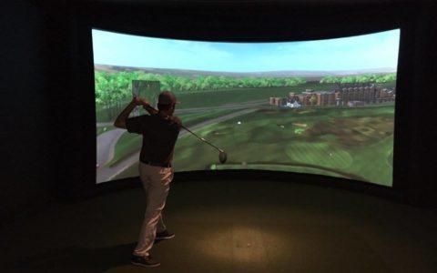Tournoi de golf virtuel