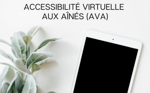Prêt de tablette iPad (Accessibilité virtuelle aux aînés - AVA)