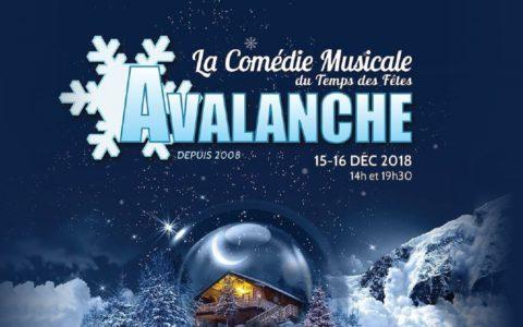 Souper-Spectacle Comédie musicale « AVALANCHE »