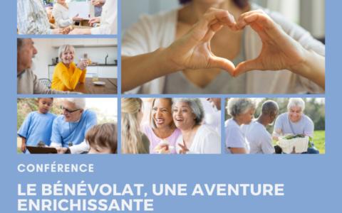 Conférence - Le bénévolat, une aventure enrichissante